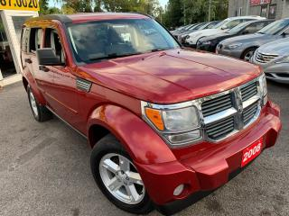 Used 2008 Dodge Nitro AUTO/ 4X4/ PWR GROUP/ ALLOYS/ TINTED! for sale in Scarborough, ON
