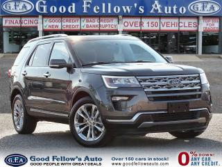 Used 2018 Ford Explorer LIMITED MODEL, 3.5L 6CYL, 4WD, 7 PASSANFER, NAVI for sale in Toronto, ON
