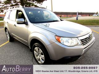 Used 2009 Subaru Forester 2.5L - XS - AWD for sale in Woodbridge, ON