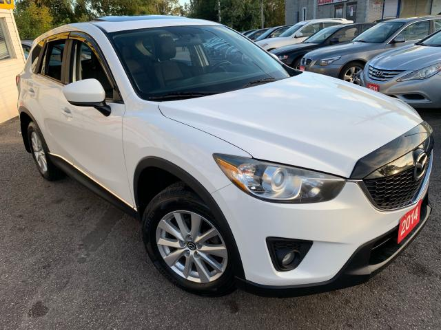 2014 Mazda CX-5 TOURING/ AWD/ NAVI/ CAMERA/ SUNROOF/ ALLOYS!