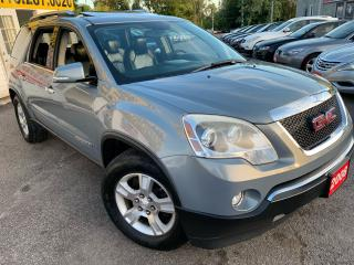 Used 2008 GMC Acadia AWD/ 7 SEATER/ DVD/ LEATHER/ SUNROOF/ ALLOYS! for sale in Scarborough, ON