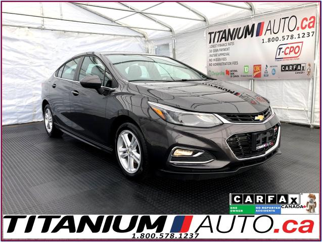 2016 Chevrolet Cruze LT-RS+Camera+Apple Play+Heated Power Seats+XM+