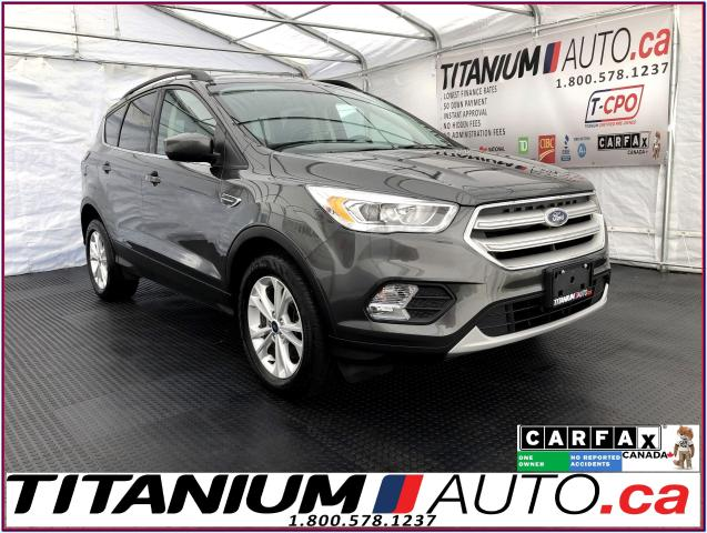 2018 Ford Escape SEL+AWD+GPS+Camera+Pano Roof+Leather+Apple Play+XM