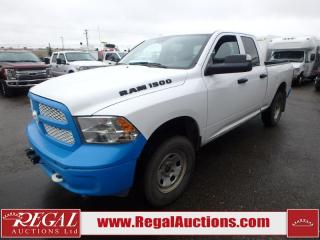 Used 2016 RAM 1500 TRADESMAN QUAD CAB SWB 4WD 3.0L for sale in Calgary, AB