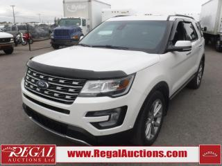 Used 2016 Ford Explorer Limited 4D Utility V6 AWD 3.5L for sale in Calgary, AB