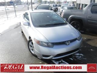 Used 2006 Honda CIVIC EX 2D COUPE 1.8L for sale in Calgary, AB