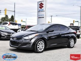 Used 2013 Hyundai Elantra GL ~Heated Seats ~Bluetooth for sale in Barrie, ON