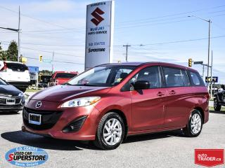 Used 2014 Mazda MAZDA5 GS ~6 Passenger ~Alloy Wheels for sale in Barrie, ON
