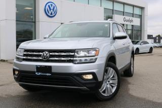 Used 2018 Volkswagen Atlas Comfortline for sale in Guelph, ON