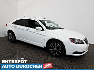 Used 2012 Chrysler 200 S TOIT OUVRANT - AIR CLIMATISÉ - Cuir for sale in Laval, QC