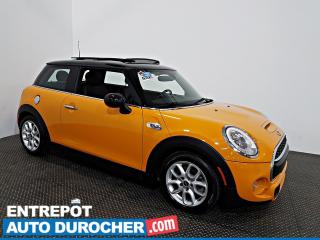 Used 2015 MINI Cooper Hardtop S TURBO NAVIGATION - Toit Ouvrant - A/C - Cuir for sale in Laval, QC