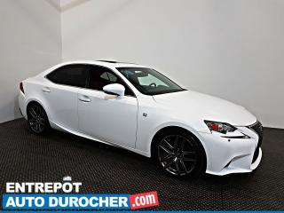 Used 2015 Lexus IS 350 F-Sport AWD NAVIGATION - Toit Ouvrant - A/C - Cuir for sale in Laval, QC