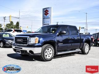Used 2010 GMC Sierra 1500 SLE Z71 Crew Cab 4x4 ~Trailer Tow ~Chrome Steps for sale in Barrie, ON
