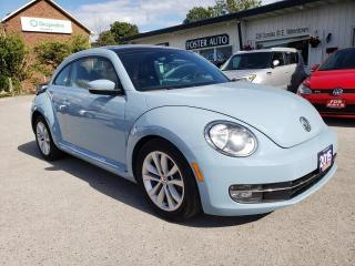 Used 2015 Volkswagen Beetle 1.8T W/ SUNROOF for sale in Waterdown, ON