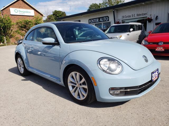 2015 Volkswagen Beetle 1.8T W/ SUNROOF