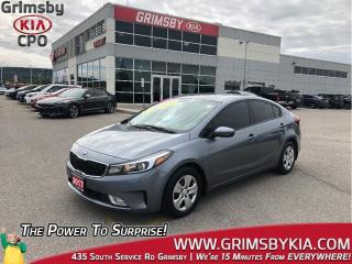 Used 2017 Kia Forte LX+|Heated Seats|Backup Cam|Keyless Entry for sale in Grimsby, ON
