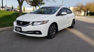 Used 2014 Honda Civic Sedan 4dr Auto Touring | Navi | Back-Up Cam| Rm. Starter for sale in Vaughan, ON