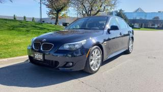 Used 2010 BMW 5 Series 4dr Sdn 535i xDrive AWD | Navi | M-Sport | BMW Ind. Audio for sale in Vaughan, ON