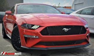 Used 2018 Ford Mustang GT Fastback FULLY LOADED RED LEATHER SEATS !! for sale in Brampton, ON