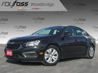 Used 2015 Chevrolet Cruze 1LT BACKUP CAM, AUTO, XM READY for sale in Woodbridge, ON