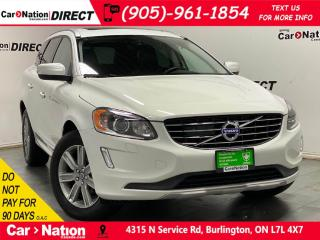 Used 2017 Volvo XC60 T6 Drive-E Premier| AWD| LEATHER| PANO ROOF| NAVI| for sale in Burlington, ON