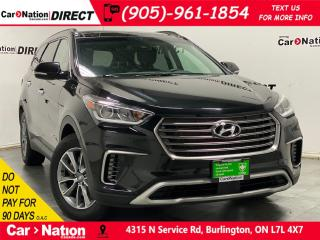 Used 2019 Hyundai Santa Fe XL Luxury 7 Passenger| AWD| LEATHER| PANO ROOF| for sale in Burlington, ON