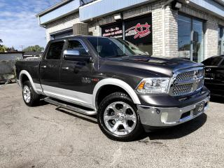 Used 2014 RAM 1500 Cabine multiplaces 4RM Laramie Eco Diese for sale in Longueuil, QC