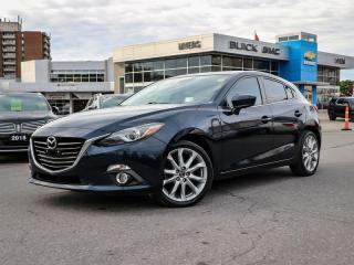 Used 2014 Mazda MAZDA3 GT-SKY  GT, SKY ACTIVE, AUTOMATIC, SUNROOF, HEATED SEATS, HEADS UP DISPLAY, LOADED for sale in Ottawa, ON
