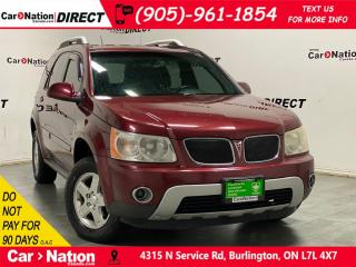 Used 2008 Pontiac Torrent | AS-TRADED| AWD| NAVI| LEATHER| for sale in Burlington, ON