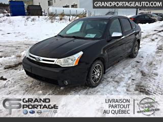 Used 2010 Ford Focus Berline, SE, AUTOMATIQUE *AUBAINE* for sale in Rivière-Du-Loup, QC