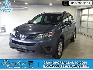 Used 2014 Toyota RAV4 LE FWD A/C *Clean* *1 Proprio* for sale in Rivière-Du-Loup, QC