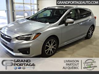 Used 2017 Subaru Impreza Sport Hatchback CVT Toit *App Connect* for sale in Rivière-Du-Loup, QC