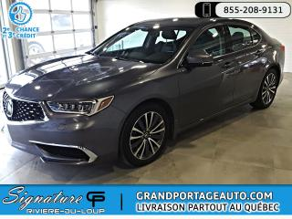 Used 2018 Acura TLX SH-AWD *Ens. Tech* Cuir Nav Toit for sale in Rivière-Du-Loup, QC