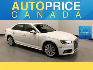 Used 2018 Audi A4 2.0T Komfort MOONROOF|LEATHER|HEATED SEATS for sale in Mississauga, ON
