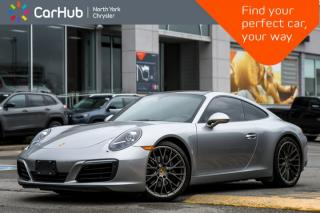 Used 2017 Porsche 911 Carrera Sunroof|BoseAudio|Nav|HeatedSeats|SportMode|KeylessEntry for sale in Thornhill, ON