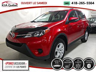 Used 2015 Toyota RAV4 LE* CAMERA DE RECUL* SIEGES CHAUFFANTS* BLUETOOTH* for sale in Québec, QC