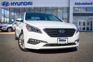 Used 2015 Hyundai Sonata Limited ONE OWNER, BC OWNED & ACCIDENT FREE for sale in Abbotsford, BC