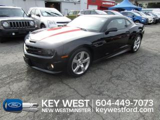Used 2010 Chevrolet Camaro 2SS *No Accidents* Leather Reverse Sensors for sale in New Westminster, BC