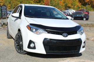 Used 2016 Toyota Corolla Berline 4 portes CVT S for sale in Shawinigan, QC