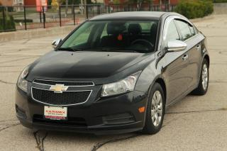 Used 2012 Chevrolet Cruze LT Turbo Bluetooth | LOW KMs |  CERTIFIED for sale in Waterloo, ON