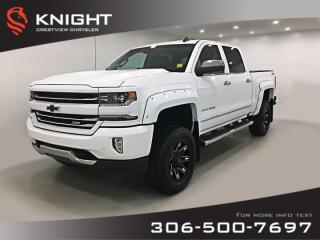Used 2017 Chevrolet Silverado 1500 LTZ Crew Cab | Leather | Sunroof | Navigation for sale in Regina, SK