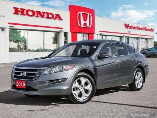 Used 2010 Honda Accord Crosstour EX-L Low Km! Reverse Assist Camera, Bluetooth and More! for sale in Waterloo, ON