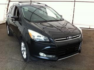 Used 2014 Ford Escape Titanium PANORAMIC SUNROOF, NAVIGATION, FACTORY REMOTE STARTER, REVERSE CAMERA for sale in Ottawa, ON