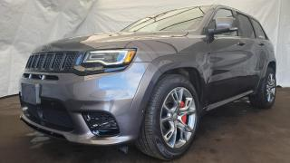 New 2019 Jeep Grand Cherokee SRT Signature Leather Interior, Dual-Pane Sunroof, Trailer Tow for sale in Ottawa, ON