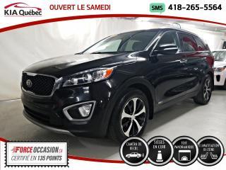 Used 2016 Kia Sorento EX+* V6* AWD* TOIT PANO* CUIR* CAMERA* for sale in Québec, QC