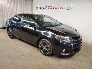 Used 2016 Toyota Corolla S GROUPE TECHNOLOGIE for sale in Montréal, QC