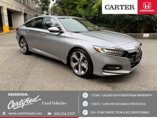 Used 2018 Honda Accord Touring CERTIFIED + 7 YEAR/160000KM for sale in Vancouver, BC