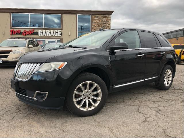 2011 Lincoln MKX AWD Leather Navigation Double Sunroof