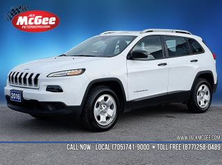 Used 2016 Jeep Cherokee Sport 2.4L, Htd Clth Bkts, Rmt Start, Rear Cam, uConnect for sale in Peterborough, ON