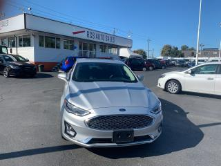 Used 2019 Ford Fusion Hybrid Titanium Edition, Hybrid, Radar Assist Parking for sale in Vancouver, BC